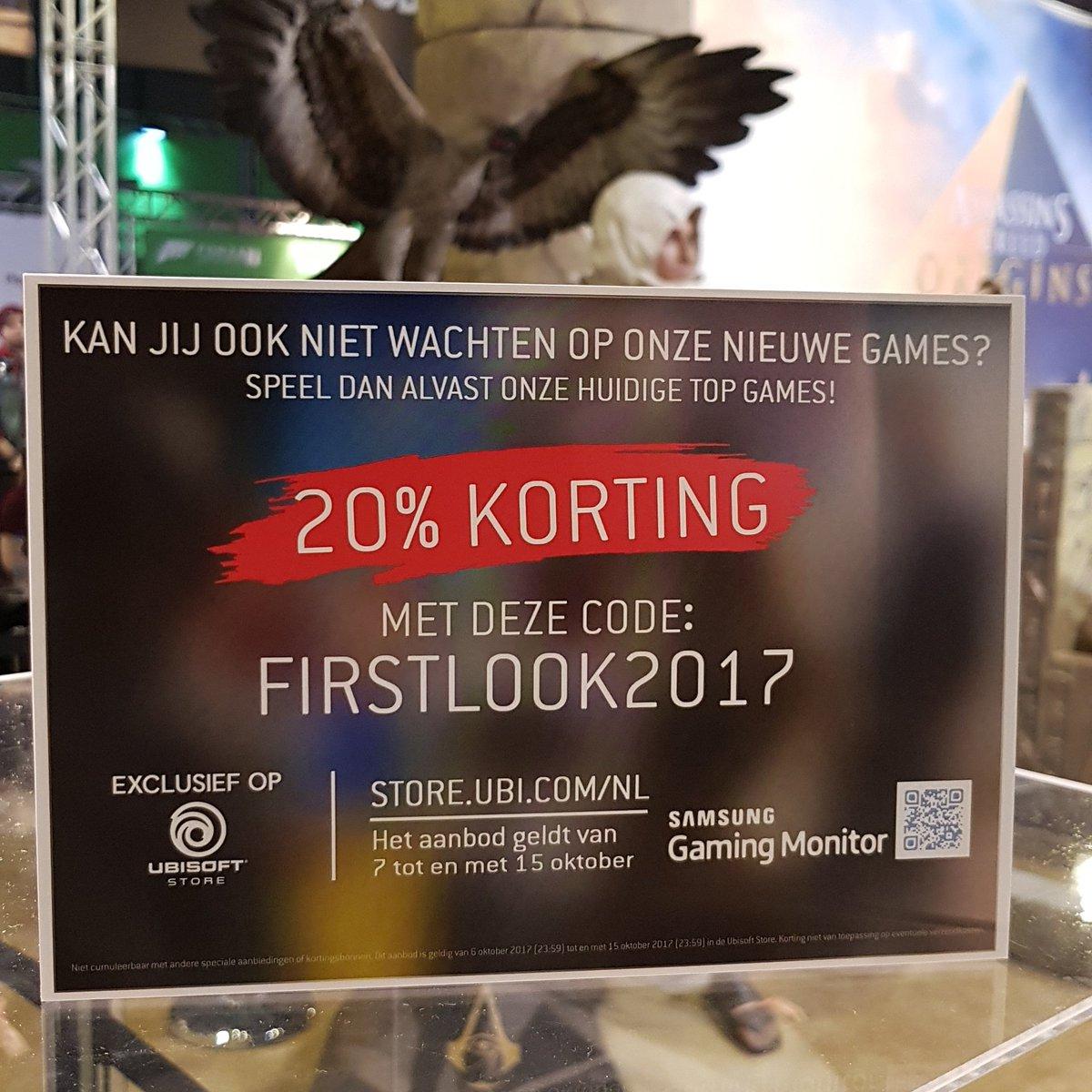 20% korting op bijna alles (combineerbaar met 100 punten kortingscode) @ Ubisoft Store