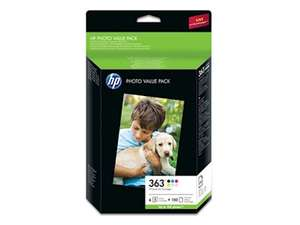 HP 363 Photo Value Pack voor €25 @ Paradigit