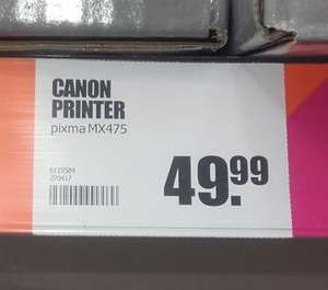Canon Pixma MX475 (All in one WIFI printer) voor €49,95 @ Big Bazar
