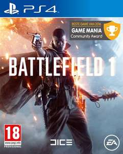 Battlefield 1 (PS4/ONE/PC) voor €19,98 @ Game Mania
