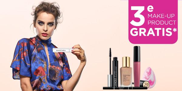 3e make-up product gratis tot 22 oktober bij ICI Paris