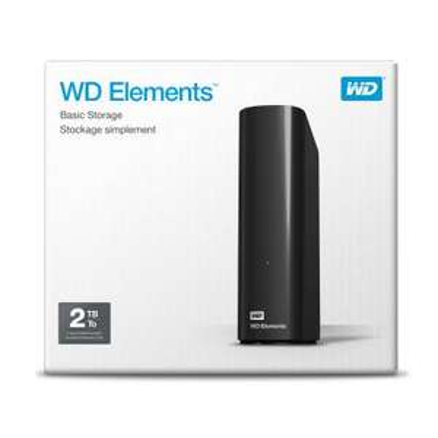 WD Elements Desktop 3.5, 2 TB (zwart) voor €57,18 (incl verzending) @ Centralpoint