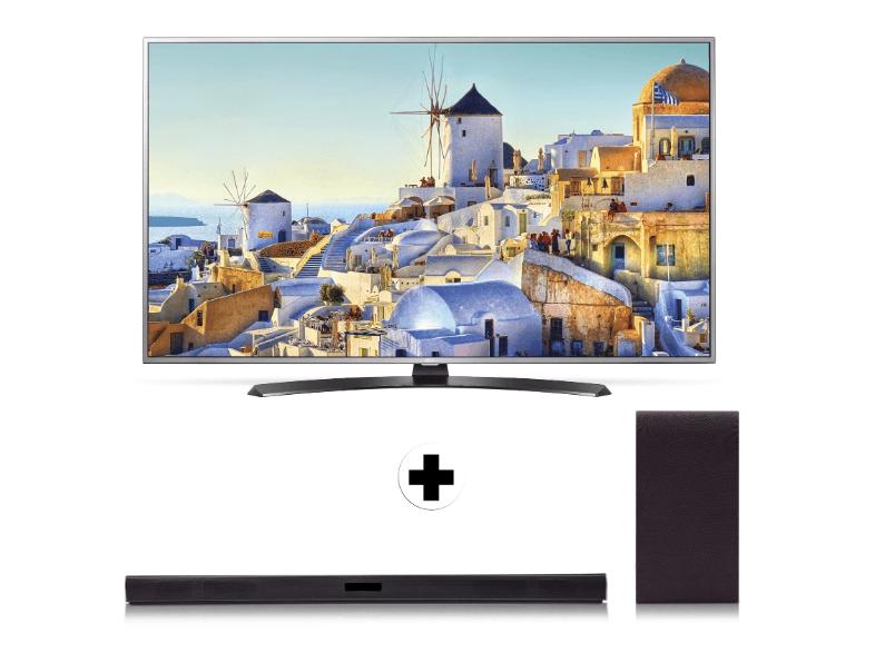 LG 55UH668V Smart Tv + LG SH4 Soundbar voor €979 @ Media Markt (Club)