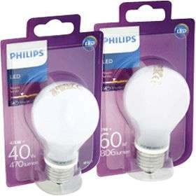 1+1 gratis (-50%) Philips LED-Lampen @ Jumbo
