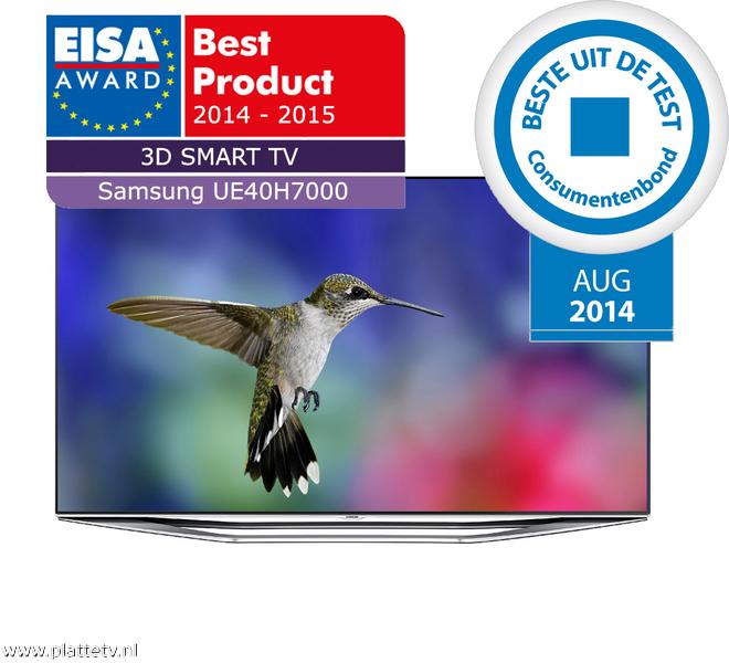 Samsung UE40H7000SL Full HD Smart TV voor €749,- Media Markt