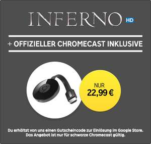 Google Chromecast 2 + Inferno