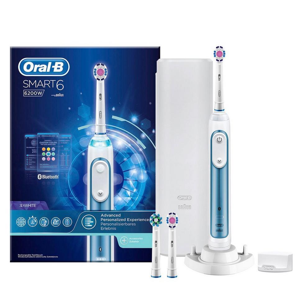 Oral-B Smart 6 6200 elektrische tandenborstel voor €139 (+€20 cashback) @ Wehkamp