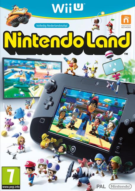 Nintendo Land (Wii U) game voor € 10 @ Media Markt