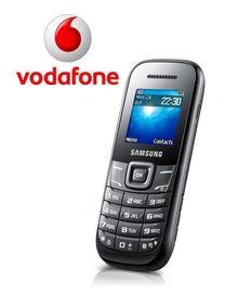 Samsung E1200 VE Zwart Vodafone Prepaid Incl. €10,- tegoed  @  Yorcom