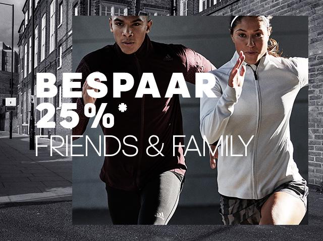 [Reminder] Alleen op donderdag 19 oktober 25% korting op bijna alles @ adidas