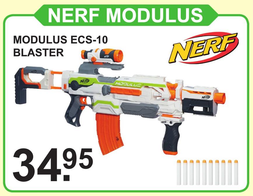 Nerf Modulus ECS-10 voor €34,95 bij Van Cranenbroek