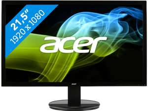 Acer K222HQL Full HD Monitor voor €79 @ BCC