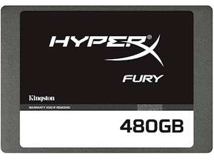 Kingston HyperX Fury SSD 480GB voor €144 @ Paradigit