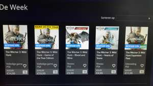The Witcher 3: Wild Hunt GOTY edition (PS4) €19,99 in PlayStation Store