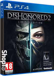 Dishonored 2 Legacy Edition PS4 voor €15,1 @ Shopto