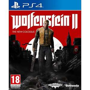 Wolfenstein II: The New Colossus PS4 voor €49,99 @ Allyourgames