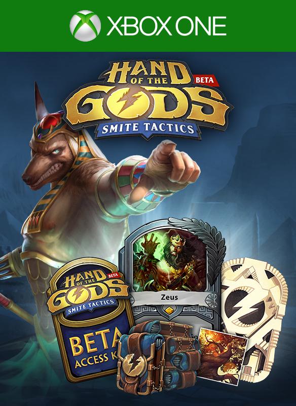 Gratis Hand of the Gods: SMITE Tactics (BETA) Xbox Live Gold Bundle @ Microsoft