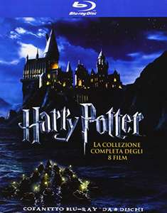 Harry Potter - Complete Collection (8 films) (Blu-ray) voor €21,83 @ Amazon.es