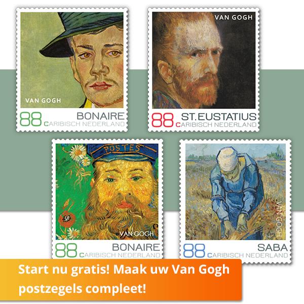 GRATIS 4 postzegels van PostNL voor Caribisch Nederland