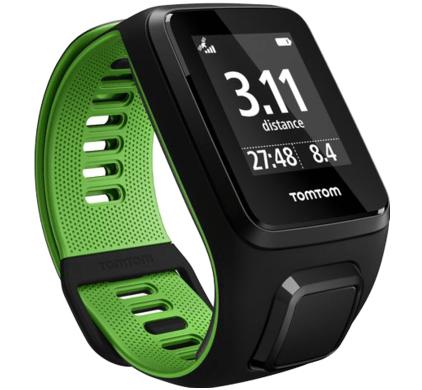 TomTom Runner 3 Cardio Zwart/Groen (S) voor €139 @ Coolblue