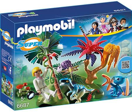 Playmobil 6687 Super 4 Verlaten Eiland voor €4,99 @ Kruidvat