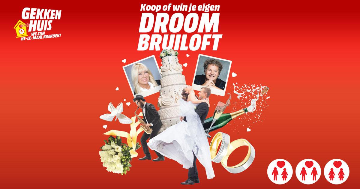Droombruiloft voor €9499 @ MediaMarkt (ook te winnen!)