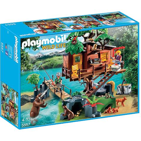 Playmobil Wild Life: Avontuurlijke boomhut (5557) voor €50,58 @ Zavvi