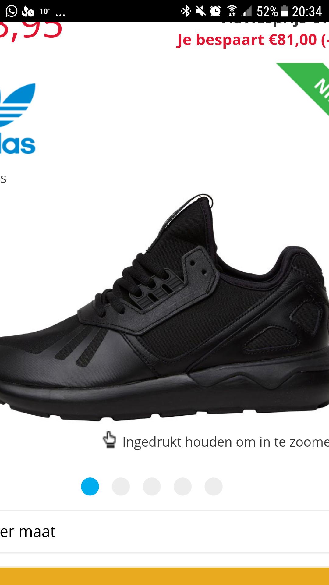 Adidas original tubular runner sneakers @ MandM Direct