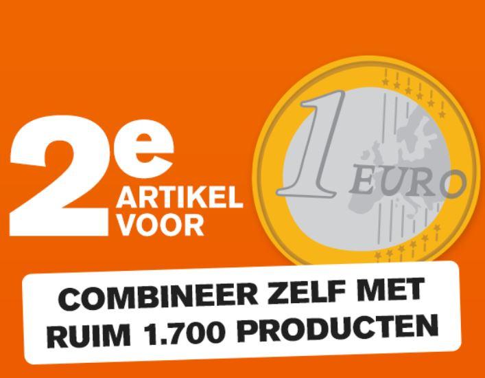 Actie: 2e artikel voor €1 (1700+ artikelen) @ Holland & Barrett