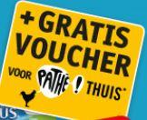 Gratis voucher Pathé thuis bij aankoop 2 actie producten @ Kruidvat