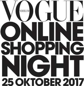 [REMINDER] Vogue Online Shopping Night: 59 webshops 10-70% KORTING