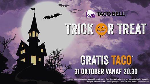Gratis taco bij Taco Bell, Tilburg/Eindhoven