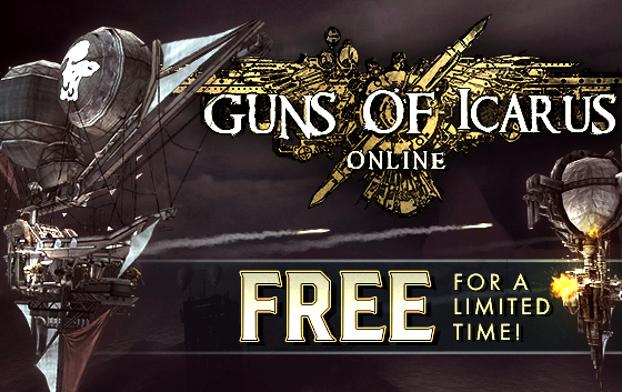 Guns of Icarus Online gratis te claimen @humblebundle