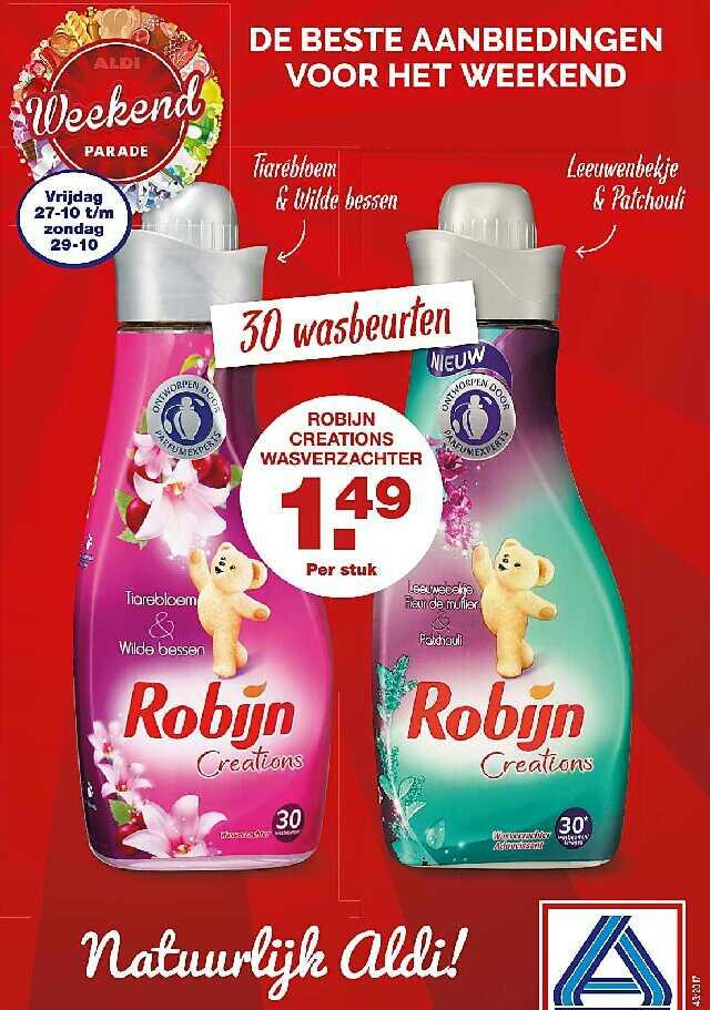 Robijn wasverzachter voor €1,49 @ Aldi