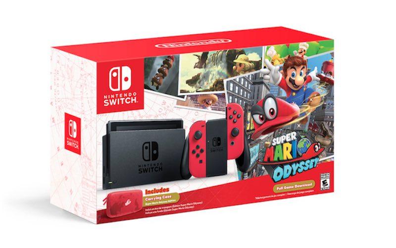 Nintendo Switch Mario Odyssey BUNDLE @ Mediamarkt