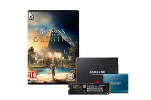 Gratis Assassins Creed Origins (PC) bij diverse Samsung SSD's @ Samsung