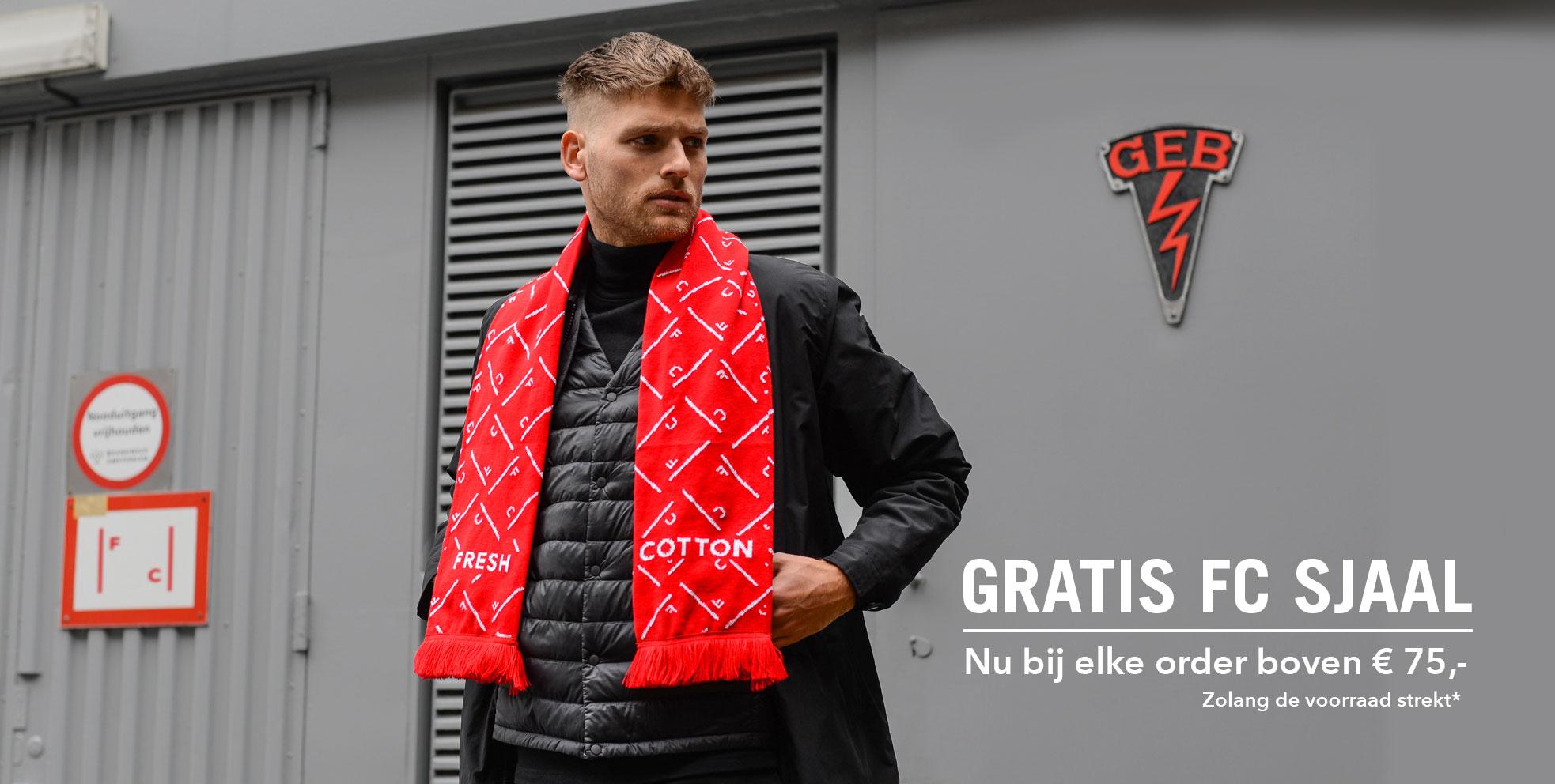 Gratis sjaal bij minimaal €75 @ FreshCotton