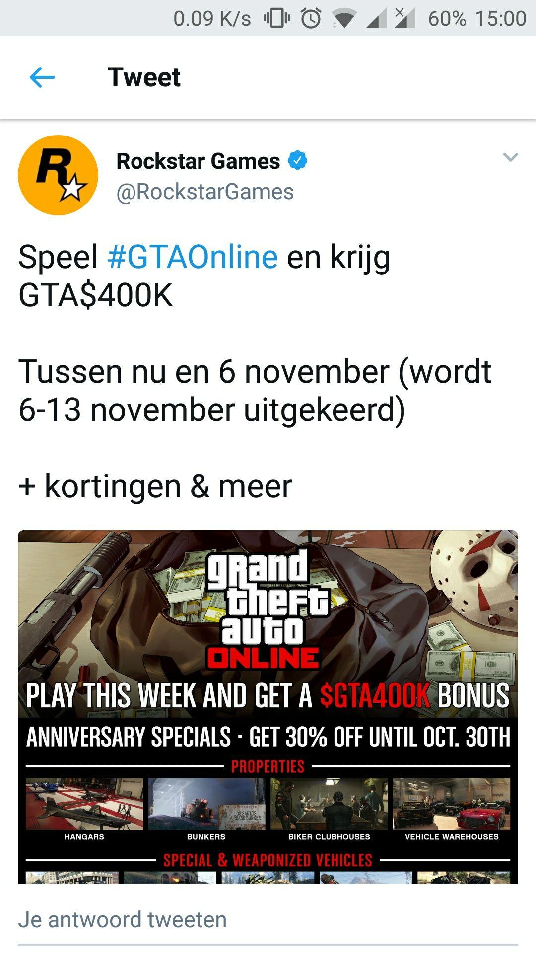Gratis GTA online geld