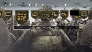 Call of Duty: WWII PS4 Dynamic Theme en Avatars Codes @ PlayStation Live