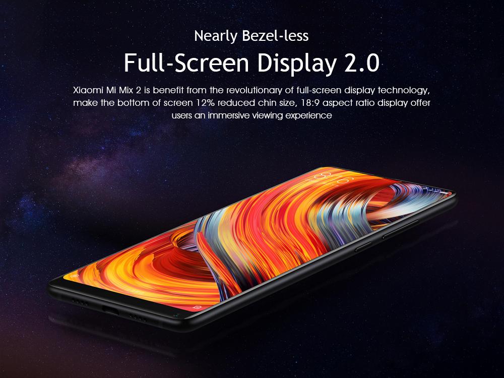 Xiaomi Mi Mix 2 5.99 Inch 4G LTE Smartphone 6GB 64GB @ gearbest.com