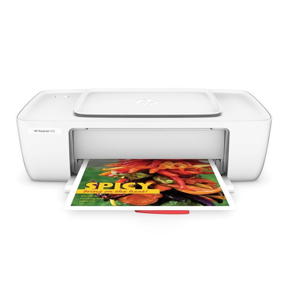 HP DeskJet 1110 inkjetprinter Printer voor €27,99 @ Wehkamp
