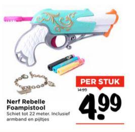 Nerf Rebelle Charmed €4,99 @ Vomar