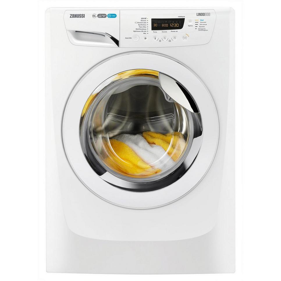 Zanussi ZWF0147NX Wasmachine - 10 kg, 1400 toeren, A+++ voor €399 @ Wehkamp