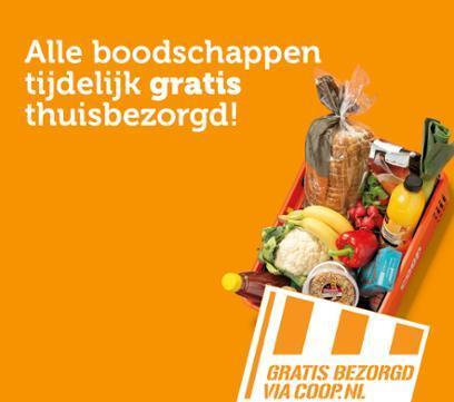 Tijdelijk gratis bezorging bij Coop + gratis  blikje Heineken 0%