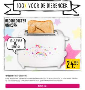 [UPDATE] Unicorn broodrooster €21,99 bij Xenos