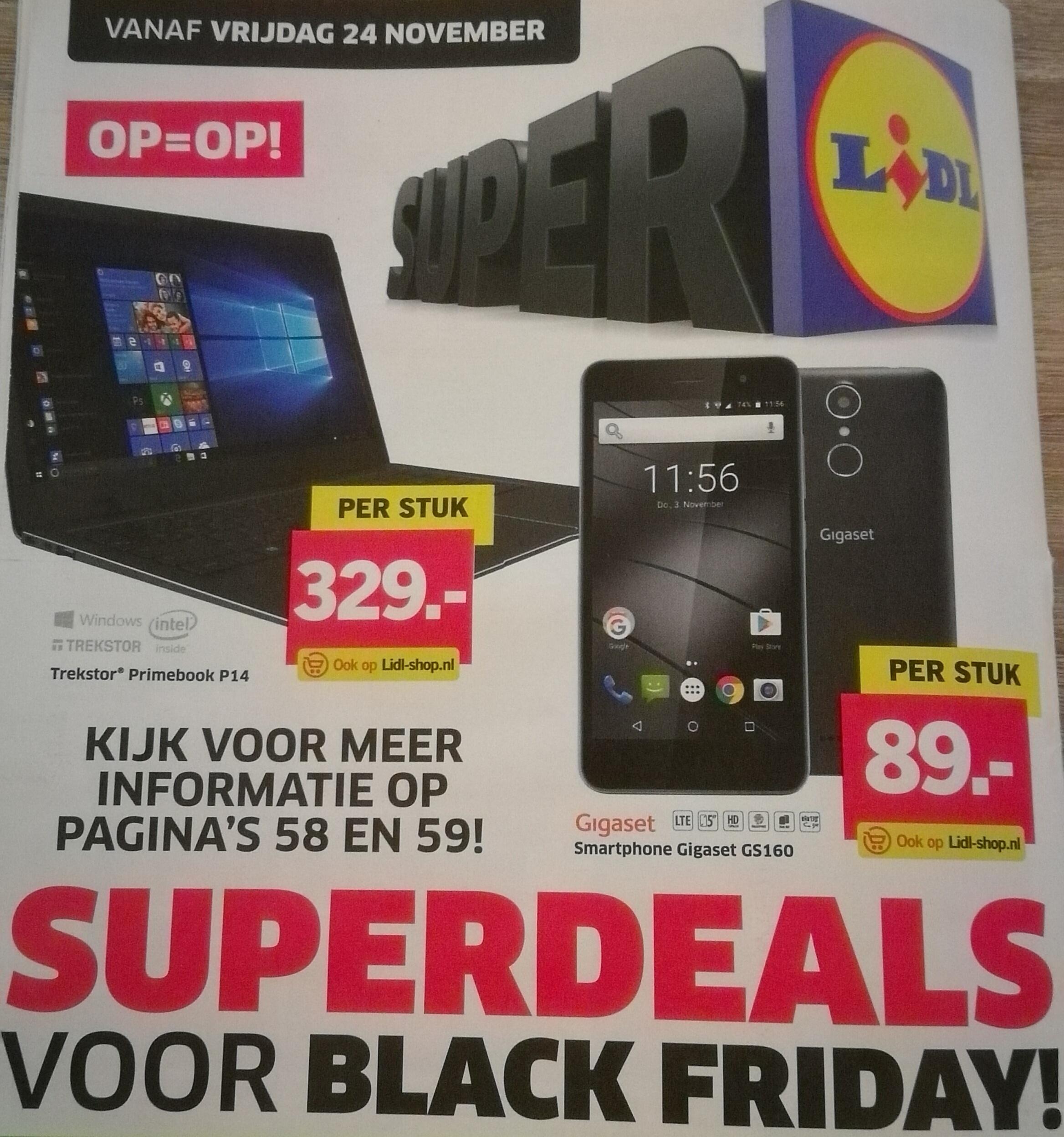 Superdeals voor Black Friday - vanaf vrijdag 24 november @ LIDL