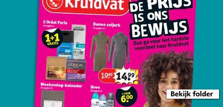 gratis verzending @ kruidvat