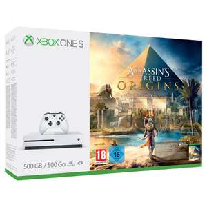 Microsoft Xbox One S Console 500GB + Assassin's Creed Origins @ Game-outlet