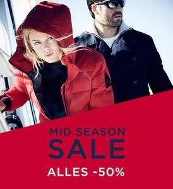 Alle sale 50% korting + €10 extra (met code va €50) @ Gaastra