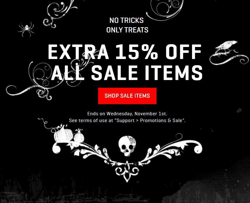 Actie: sale 15% extra korting @ Puma